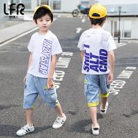 男童短袖套装夏装儿童夏季时尚两件套