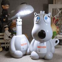 小台灯迷你便携小学生学习写字护眼书桌可充电台灯