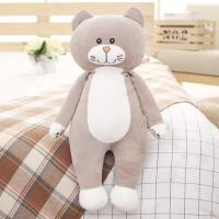 可爱小猫咪长条枕玩偶布娃娃女孩床上睡觉抱枕公仔猫毛绒玩具枕头