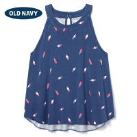 OLD NAVY 女童 舒适无袖圆领背心 287137