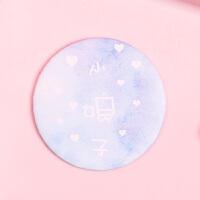 韩国ins风可爱卡通化妆镜 迷你便携女生梳妆镜 单面镜圆形小镜子