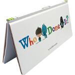 英文原版 Who Done It? 是谁呢? 精装 情境式探索+推理+找找书 锻炼观察力 亲子互动游戏书 情绪情感认知
