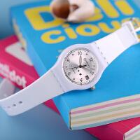 手表韩版时尚简约日历儿童手表男孩女孩中小学生男女童石英表