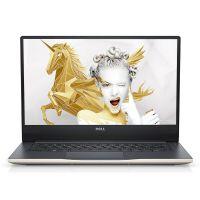 戴尔(DELL)Ins15-7560-R1745G 15.6英寸微边框笔记本电脑(I7-7500U 8G 1T+128G 4G)金色