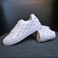 小白鞋女2019春季新款韩版平底板鞋休闲白鞋学生运动鞋女鞋跑步鞋