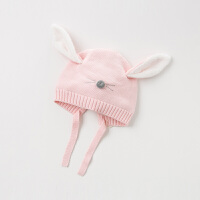 davebella戴维贝拉童装冬季新款女童帽子宝宝卡通套头帽DB11779-1