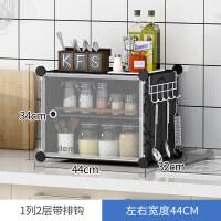 【支持礼品卡】简易组装碗柜家用橱柜收纳柜子储物柜多功能经济型厨房置物餐边柜3qn