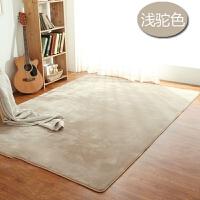 加厚地垫客厅茶几毯珊瑚绒卧室满铺床边地毯榻榻米儿童爬行垫防滑k