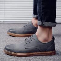 休闲鞋子布洛克鞋小皮鞋男2018新款男鞋秋季男士皮鞋英伦百搭韩版