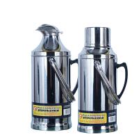 不锈钢热水瓶家用保温瓶暖壶大号3.2L暖瓶学生宿舍玻璃内胆茶瓶