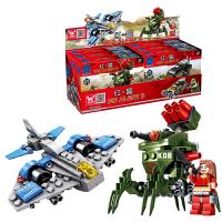 红警系列军事新款积木模型塑料组装儿童益智拼装拼插玩具6-8-10-12岁以上男孩