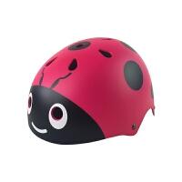 轮滑头盔儿童可调节安全帽子溜冰鞋旱冰滑板宝宝自行车平衡