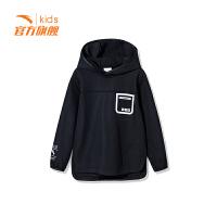 【3折价65.7】安踏童装男童卫衣儿童套头衫中大童卫衣A35847707