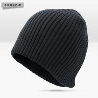 【秋冬新品】毛线帽子女帽子士韩版潮保暖针织帽冬季加绒毛线帽女睡帽套头冷帽