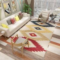 现代简约风格客厅沙发茶几地毯居家卧室房间满铺床边可爱少女地毯k