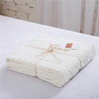 麻花毯针织毛线毯子/办公室午睡毯/毛毯盖毯/沙发毯子休闲毯y