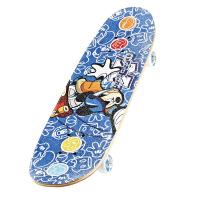 DISNEY/迪士尼正品卡通滑板儿童四轮专业滑板双翘滑板公路滑板