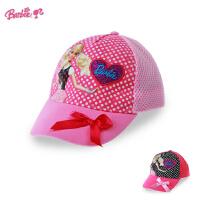 公主儿童棒球帽 宝宝遮阳帽帽子女童鸭舌帽网眼