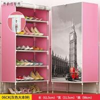 简易鞋架经济型家用多层寝室宿舍防尘布家里人收纳架鞋柜