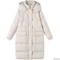 轻薄羽绒服女中长款2018冬季新款韩版修身长款过膝学生小个子外套
