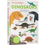 英文原版 Twirl Ultimate Spotlight: Dinosaurs 恐龙 精装 立体翻翻书 恐龙知识 儿