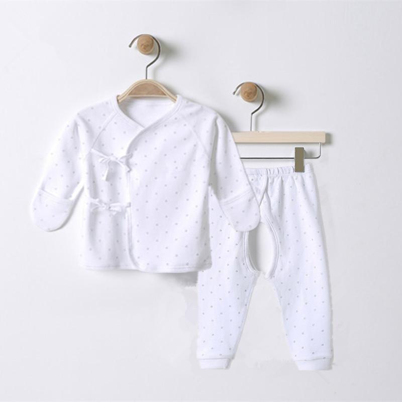 新生儿衣服0-3月春秋夏装6宝宝秋衣秋裤内衣套装1婴儿和尚服