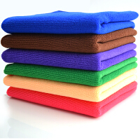 买10送1条擦地布超细纤维洗碗布吸水毛巾不易掉毛不易沾油洗碗巾