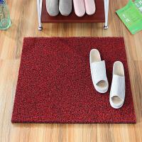 加厚丝圈地垫门垫进门入户可裁剪pvc脚垫地毯门口门厅家用防滑垫q