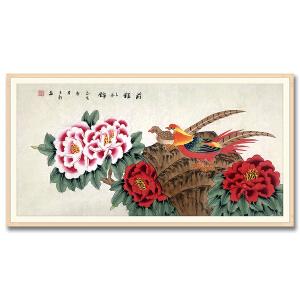 中国美术家协会会员、北京工笔重彩画会会员 耿玉轩《前程似锦》DW106