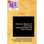 【中商海外直订】Biennial Report of the State Superintendent of Free