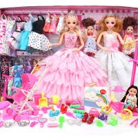 洋娃娃儿童过家家公主女孩玩具换装芭比娃娃套装大礼盒别墅城堡