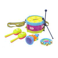 宝宝玩具 小鼓 幼儿玩具乐器组合套装儿童婴儿手摇铃喇叭 欢乐乐器组合