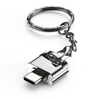 �x卡器手�Ctf�却婵ㄞDtype-c安卓micro通用便�yotg多合一二合小型迷你多功能u�P相�C高速3.0�D�Q器USB2.