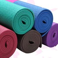 瑜珈垫 愈加垫子 瑜伽垫厚度3MM 颜色随机