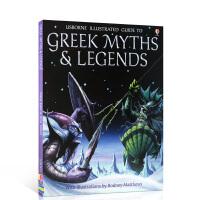 全店满300减100】英文原版 希腊神话和传说 Greek myths and legends 插图故事书 精装 儿童英