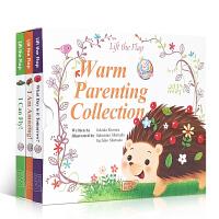 顺丰包邮 英文原版绘本叽里咕噜Warm Parenting Collection温馨亲子套装3册小达人点读儿童宝宝英语