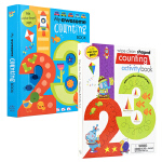 【顺丰速运】英文进口原版 My awesome counting book /activity book 2册数字启蒙