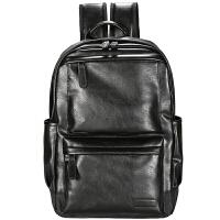 男士双肩包大容量时尚潮流背包休闲大学生高中书包商务电脑包