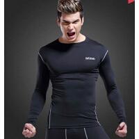 网球羽毛球专业运动衣 运动健身衣紧身长袖篮球