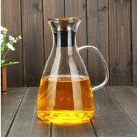 冷水壶套装耐热玻璃水扎丹麦SOLO水壶大容量水杯果