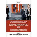 【预订】Corporate Governance in Contention 9780198805274