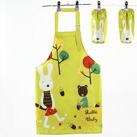 儿童防水罩衣画画衣男女宝宝绘画反穿衣围裙幼儿园小孩防污吃饭衣