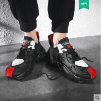 男鞋户外新品网红同款透气韩版潮流运动休闲老爹增高潮鞋百搭个性板鞋