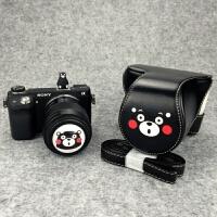 可爱微单相机包皮套相机套保护套适合m6mm0索尼a6000