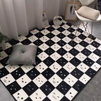 定制北欧地毯加厚客厅家用茶几地垫卧室爬垫飘窗垫床垫四季可机洗k