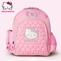 Hello Kitty凯蒂猫 KT1045粉红 女童书包甜美淑女双肩包EVA幼儿园书包 当当自营