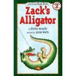 英文绘本 原版进口 Zack's Alligator(I Can Read)扎克的鳄鱼 [4-8岁]