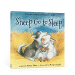 顺丰包邮 英文原版进口绘本 Sheep go to sleep 小羊去睡觉 平装 儿童启蒙亲子睡前晚安图文故事读物书籍