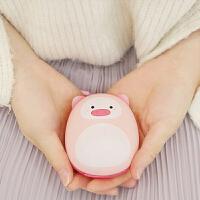 暖手宝 暖手宝迷你USB充电带移动电源暖宝宝猪年吉祥物充电宝随身便携送女朋友可爱暖宝宝