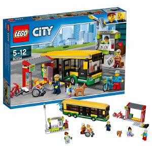 [当当自营]LEGO 乐高 City城市系列 公交车站 积木拼插儿童益智玩具60154